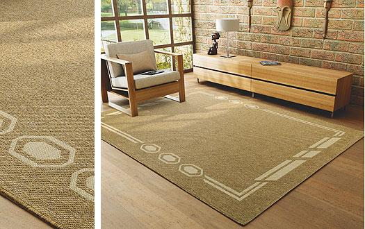 Tapete Rustico Para Sala De Jantar ~  de tapetes rústicos com desenhos equilibrados tem espessura de 5